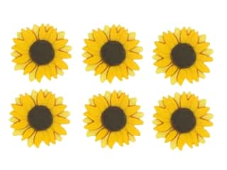 Jesse James Embellishments - Sunflowers