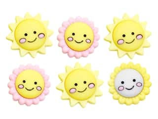 craft & hobbies: Jesse James Embellishments - Hello Sunshine