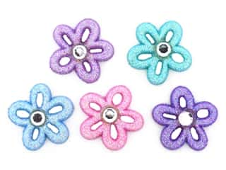 novelties: Jesse James Embellishments - Fairy Dust Flowers