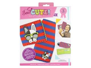 Colorbok Sew Cute! Felt Wallet Sewing Kit - Doggie