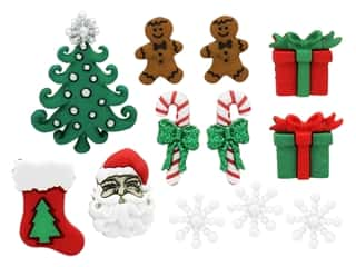 novelties: Jesse James Embellishments - Theme Christmas