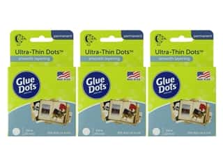 Glue Dots Roll Ultra Thin 3/8 in. 300 pc. (3 Pack)