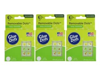 Sale: Glue Dots Roll Removable 1/2 in. 200 pc. (3 pack)