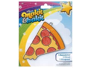 Colorbok Makit & Bakit Suncatcher Kit - Pizza