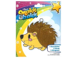 Colorbok Makit & Bakit Suncatcher Kit - Hedgehog