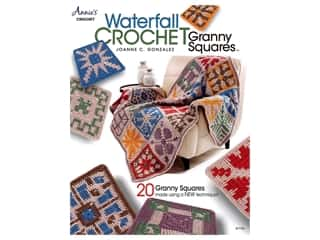 books & patterns: Waterfall Crochet Granny Squares Book