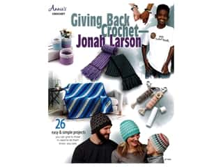 books & patterns: Giving Back Crochet Jonah Larson Book