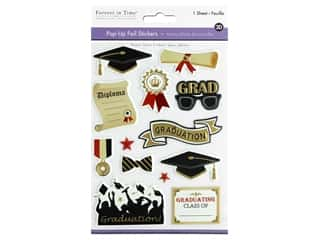 scrapbooking & paper crafts: Multicraft Forever In Time Sticker Pop-Up Graduation