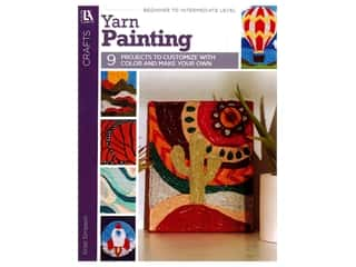 books & patterns: Leisure Arts Yarn Painting Book