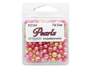 Buttons Galore Pearlz - Tie Dye (3 sets)