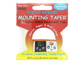 glues, adhesives & tapes: Pioneer Photo Memory Mounting Tape 1/2 in. x 30 ft.