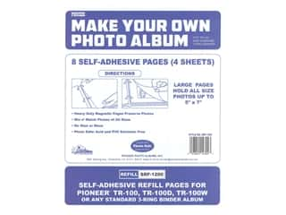 Pioneer Refill Page Magnetic Album TR-100 4 pc.