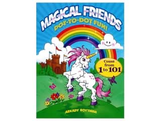 books & patterns: Dover Publications Magical Friends Dot-To-Dot Fun! Book