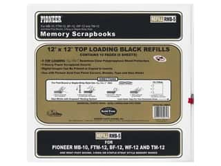 Pioneer Memory Refill Page 12 x 12 in. Black