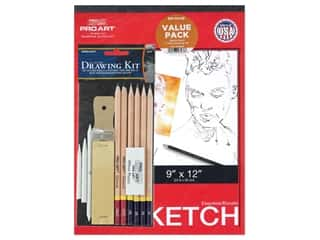 Pro Art Sketch Pad and Drawing Value Pack