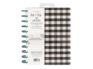 American Crafts Maggie Holmes Day To Day Daily Planner 8.5 in. x 11  in. Black & White Checkerboard