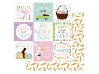 Echo Park Collection Welcome Easter Paper 12 in. x 12 in.  Journal 4 in. x 4 in. (25 pieces)