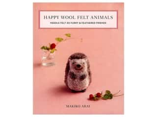 Stash By C&T Happy Wool Felt Animals Book