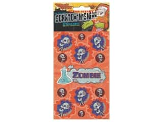 Just For Laughs Scratch-n-Sniff Stickers - Zombie