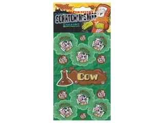 Just For Laughs Scratch-n-Sniff Stickers - Cow