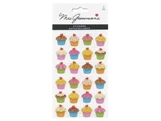 Mrs Grossman's Stickers - Giant Reflections Cupcake Bonanza