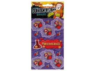 Just For Laughs Scratch-n-Sniff Stickers - Fireworks