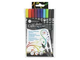 craft & hobbies: Manuscript Callicreative Duotip Permanent Brush 12 pc