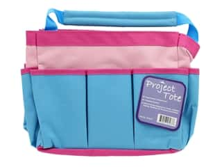 Allary Project Tote Pink/Aqua