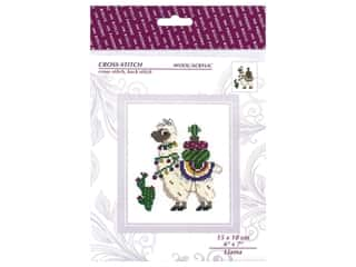 Riolis Cross Stitch Kit Llama
