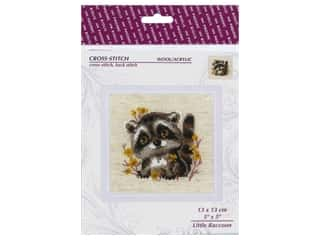Riolis Cross Stitch Kit Little Raccoon