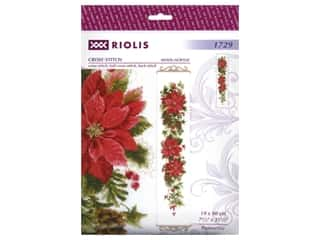 yarn & needlework: Riolis Cross Stitch Kit Poinsettia