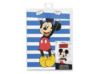 EK Scrapbook Album Disney Photo 4 in. x 6 in. Mickey Stripe