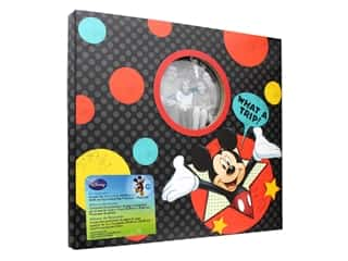 EK Scrapbook Album Disney Mickey What A Trip