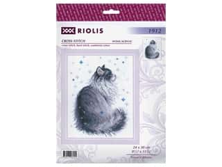 yarn: Riolis Cross Stitch Kit Snowy Meow