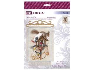 yarn: Riolis Cross Stitch Kit Cottage Garden Winter
