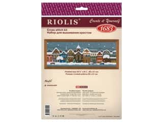 yarn & needlework: Riolis Cross Stitch Kit Christmas City