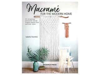 Search Press Macrame For The Modern Home Book