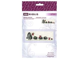 Riolis Cross Stitch Kit Hedgehogs