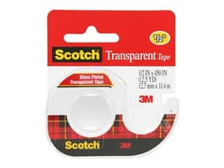 scrapbooking & paper crafts: Scotch Transparent Tape - 1/2 x 450 in.