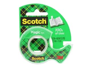 Scotch Magic Tape - 1/2 x 450 in.