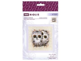 Riolis Cross Stitch Kit Little Owls