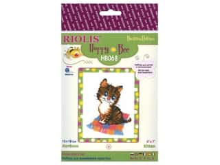 Riolis Cross Stitch Kit Kitten