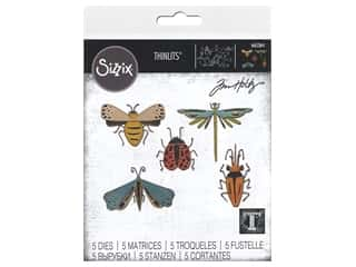 Sizzix Dies Tim Holtz Thinlits Funky Insects