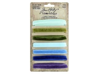 Tim Holtz Idea-ology Velvet Trims Cool