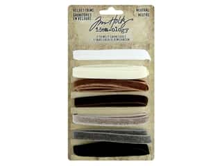 Tim Holtz Idea-ology Velvet Trims Neutral
