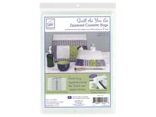 June Tailor Kit Zippity Do Done Cosmetic Bag With Gray Zip