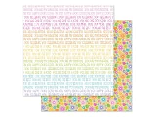 Doodlebug Collection Fairy Garden Paper 12 in. x 12 in. Magical Meadow (25 pieces)