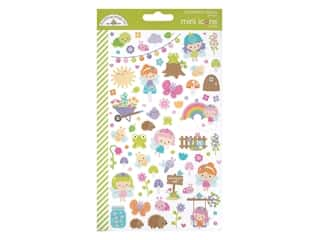 Doodlebug Collection Fairy Garden Sticker Mini Icons