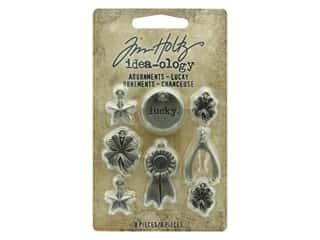 beading & jewelry making supplies: Tim Holtz Idea-ology Adornments Lucky