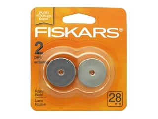 gifts & giftwrap: Fiskars Rotary Blade 28 mm Straight 2 pc.